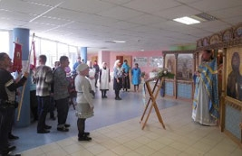 Престольный праздник в домовом храме иконы Божией Матери «Целительница» при ЦССВ «Южное Бутово»